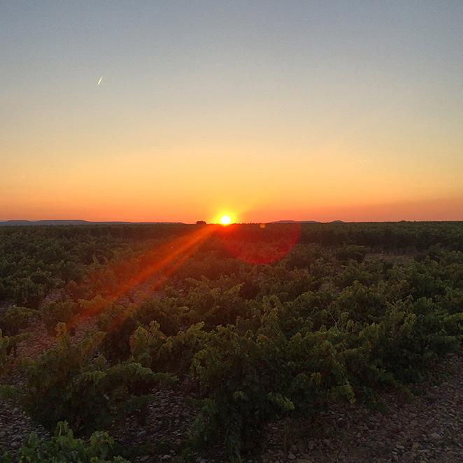 Una increíble puesta de sol escuchando mi canción favorita…