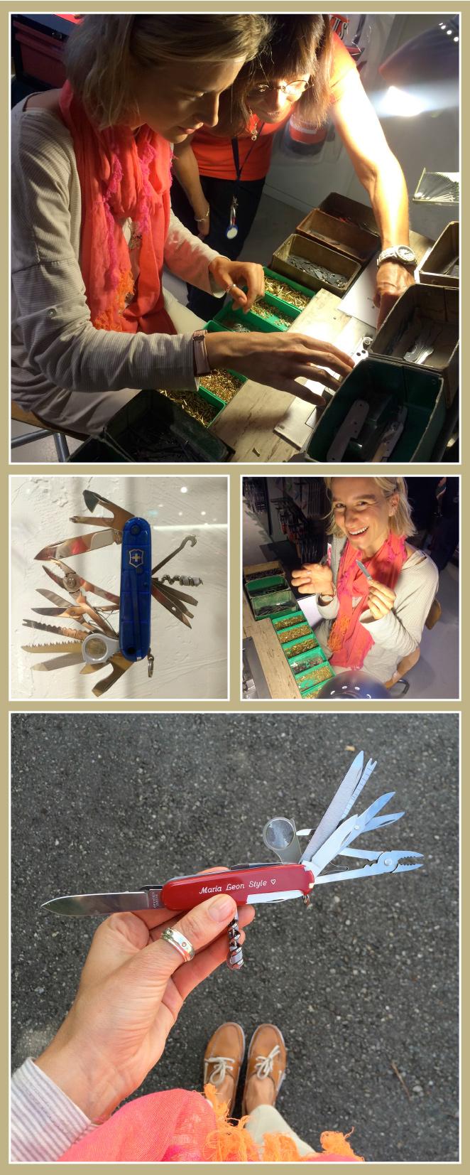 Uno de los accesorios más característicos de Suiza son sus mundialmente conocidas navajas Victorinox