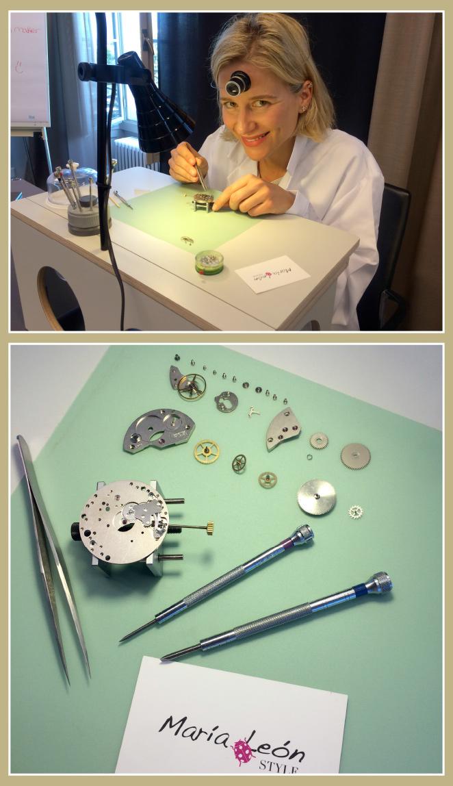Vivir la experiencia de poder aprender a como crear un reloj tú mismo es apasionante!! En Bucherer