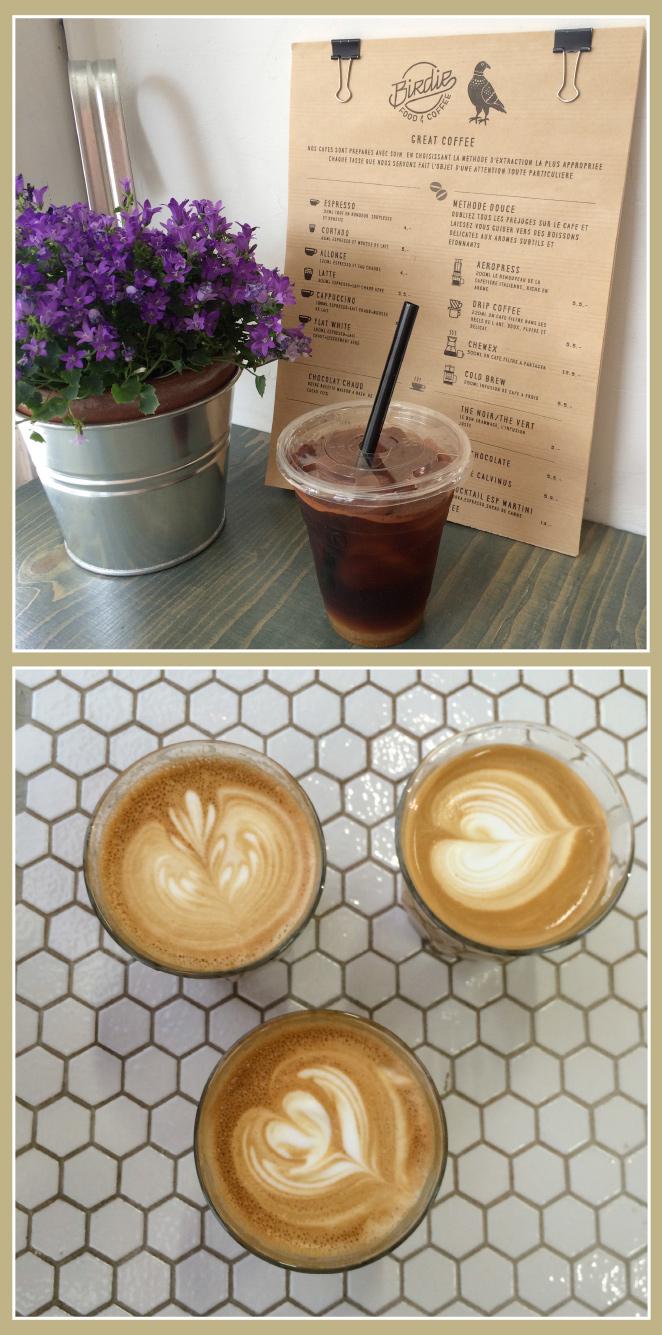 Café que marque la diferencia en Birdie Food & Coffee
