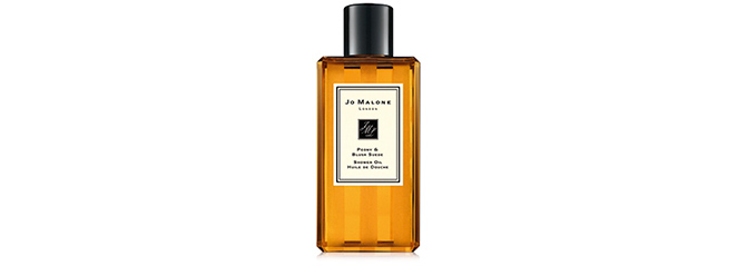 Peony & Blush Suede Shower Oil de Jo Malone