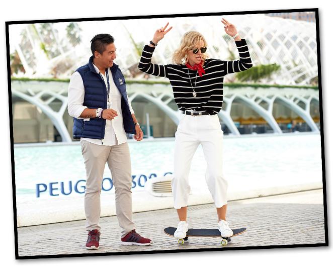 Un paseo por Valencia by María León Style con Peugeot