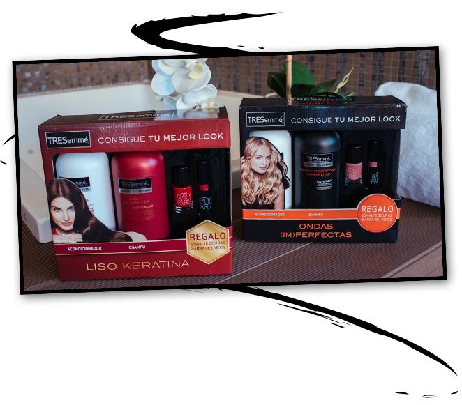 Dos packs especiales de TRESemmé para esta Navidad