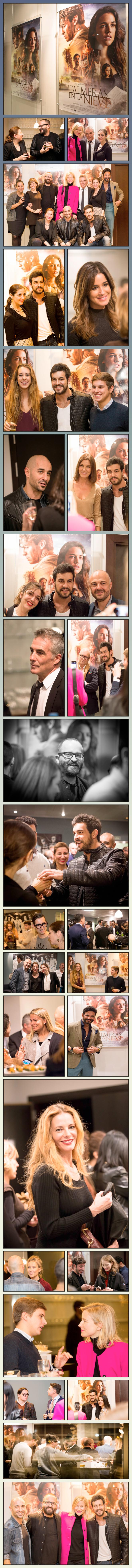 María León organizó el preestreno exclusivo de esta gran película para reconocidos influencers al que también asistieron el director Fernando Gónzález Molina y los actores Mario Casas y Alain Hernández