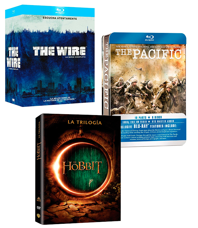 Packs de series o películas