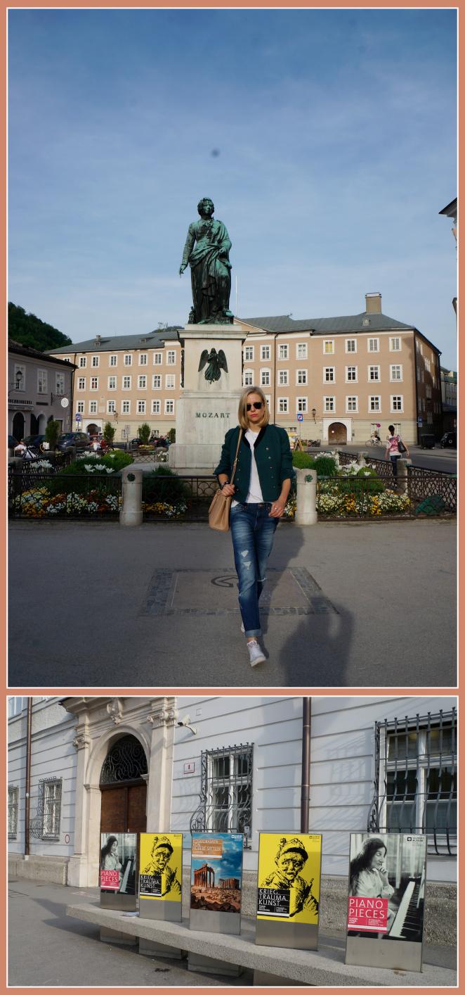 Mozartplatz , es una de las plaza más importantes de la ciudad situadas en pleno centro, donde hay un monumento dedicado a Mozart