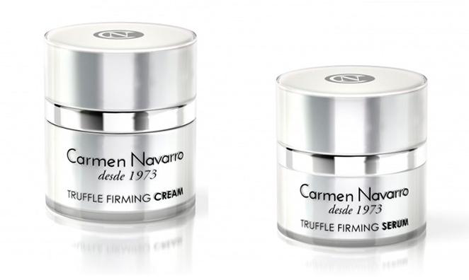 Truffle Firming Cream y Serum de Carmen Navarro