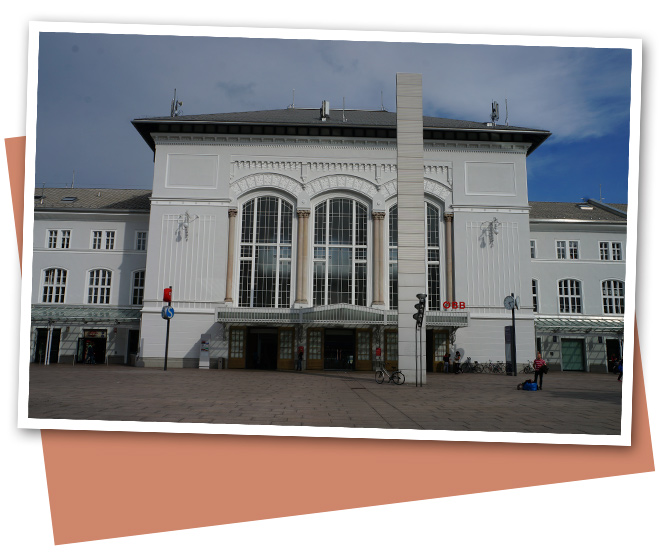 Estación de Tren inaugurada por Sissi