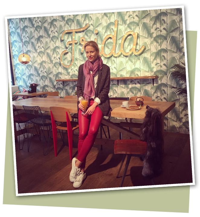 En el restaurante Frida de Madrid, donde elaboramos todos los desayunos