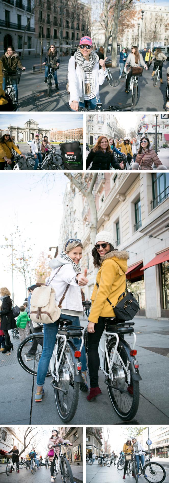 Un bicitour con estilo por Madrid