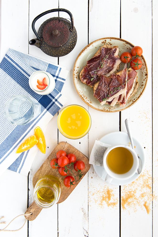 Desayuno para futuras mamás