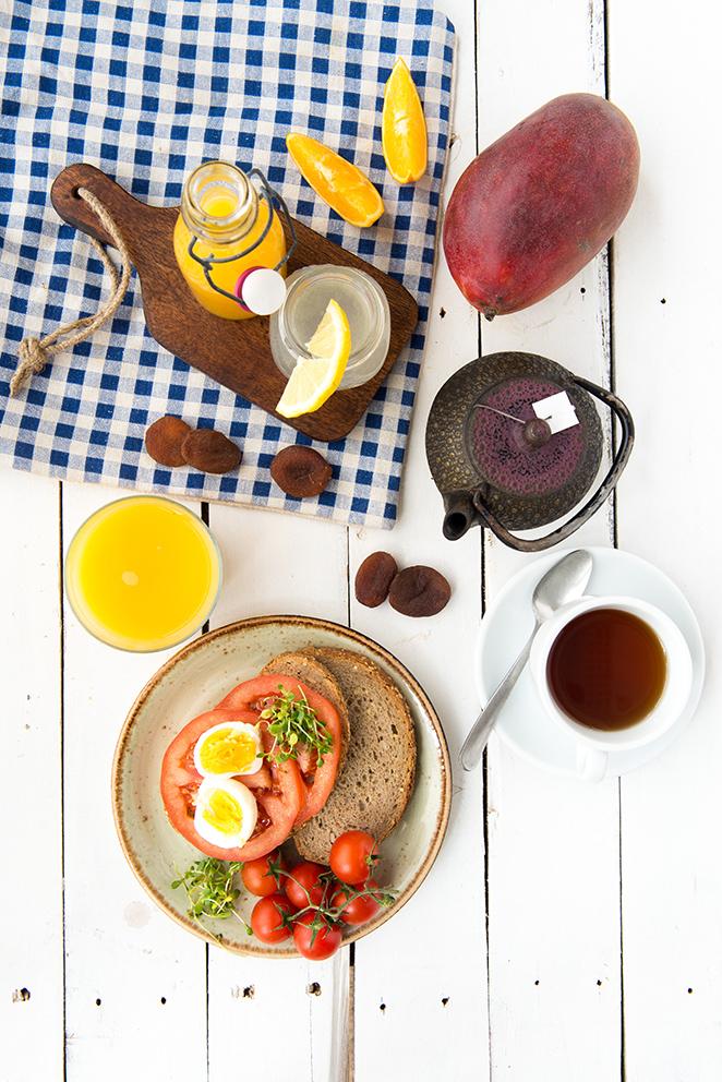 Desayuno para esfuerzo físico