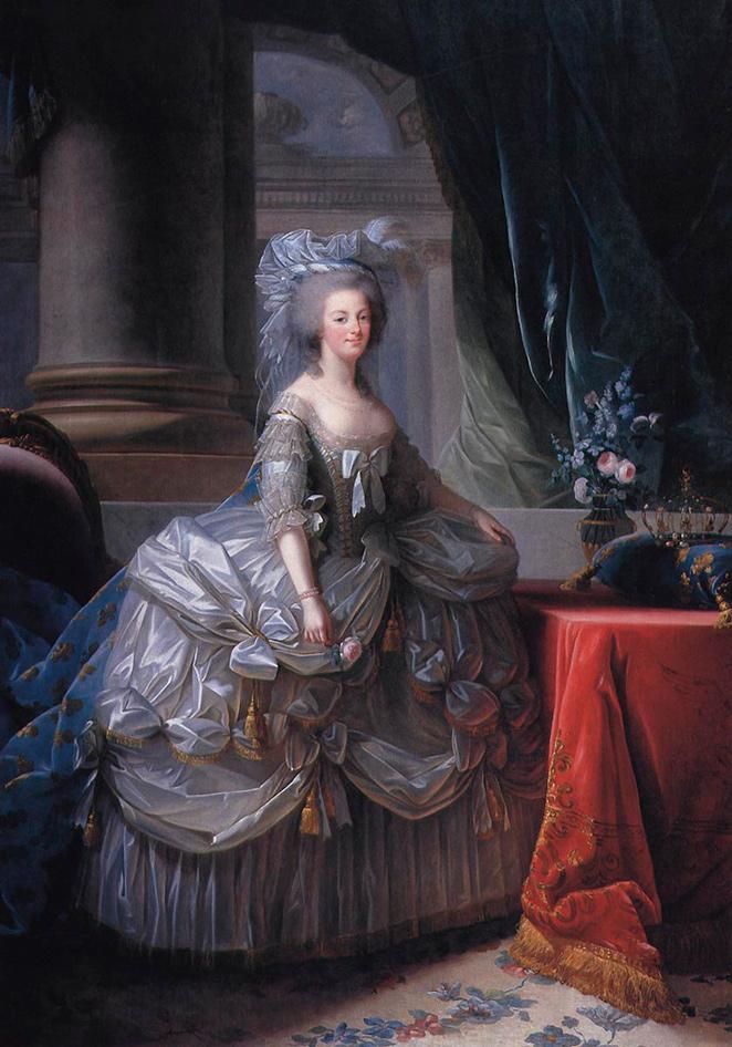 Elisabeth Vigée Lebrun. María Antonieta de Austria, Reina de Francia. 1783. Palacio de Versalles.
