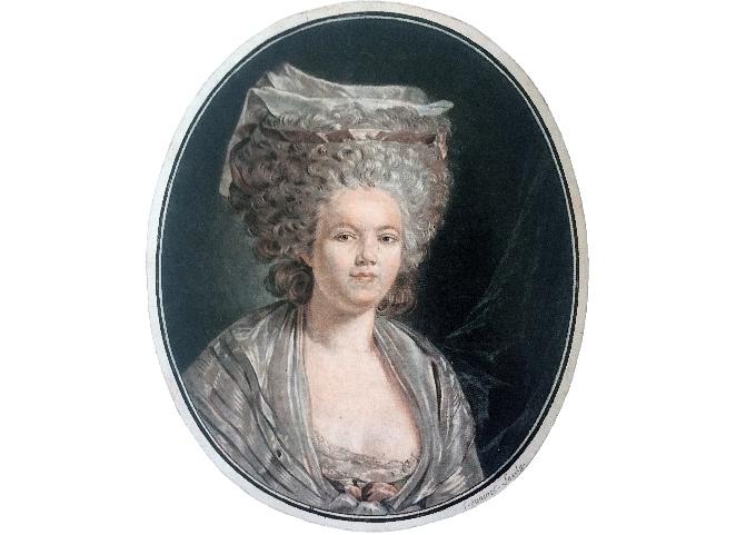 Jean-François Janinet. Rose Bertin. Hacia 1780
