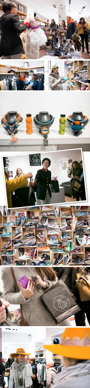 Zahir Madrid, donde nos recibió Tatiana, su dueña, y nos contó sobre las selección de firmas trendy que se pueden encontrar allí como La Condesa (famosa por sus chaquetas de aire militar!!) y Mi Maria Morena (espectaculares collares!!), entre otras