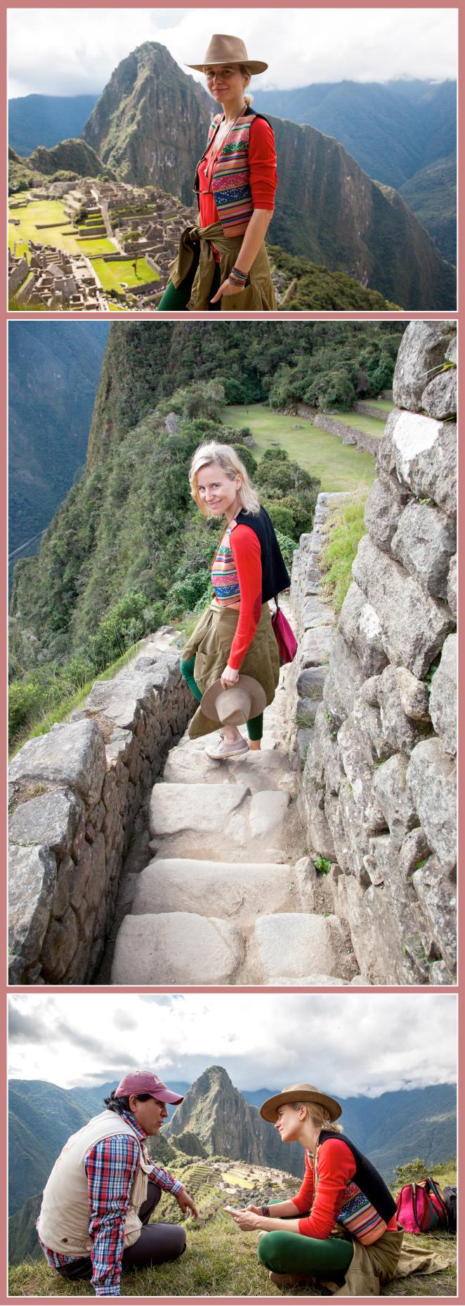 María León y el Machu Picchu