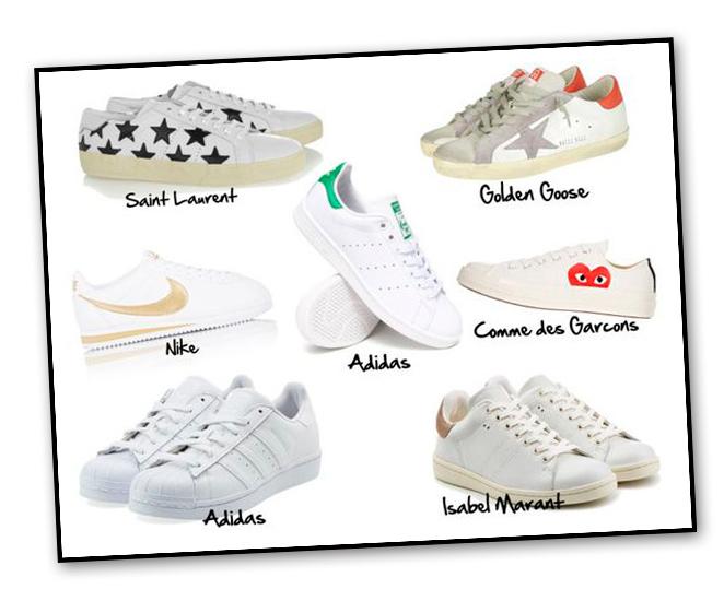 Sneakers - La blanca clásica