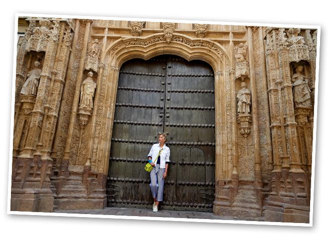 María León en La Mezquita y al Alcázar de los Reyes Cristianos