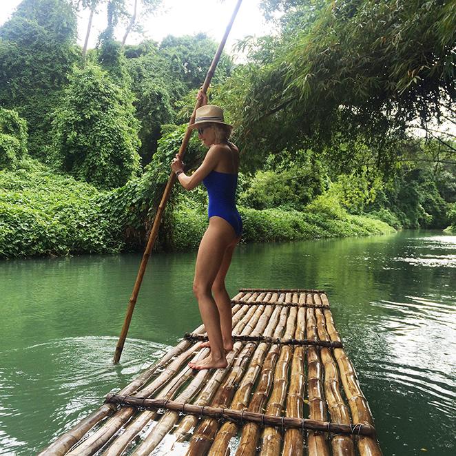 Rafting por el río de Martha, Ocho Ríos Brae
