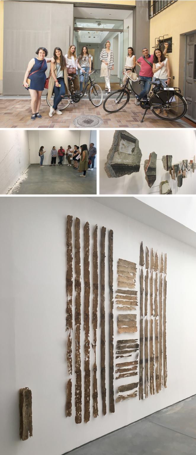 Galería Max Estrella. Justo al lado de Pinkoco se encuentra esta galería que siempre presenta interesantísimos artistas, en este caso pudimos admirar las obras de la artista colombiana Leyla Cárdenas