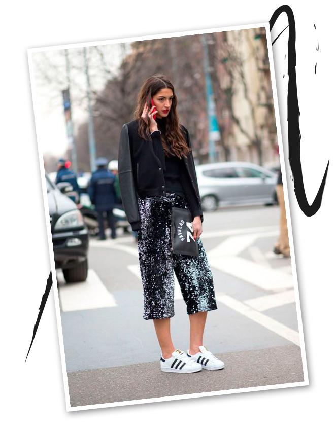 Street style, una corriente más glam del athleisure