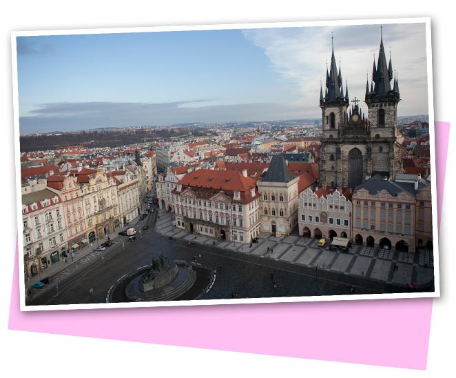 En Praga hay una mezcla de varios estilos: románico, gótico, barroco, rococó, renacentista…