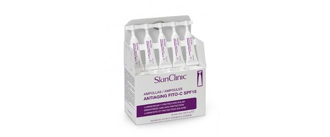 Ampollas antiaging fito-C SPF15 de Skin Clinic
