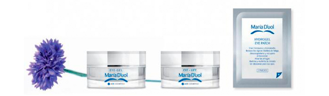 Eye Lift, Hydrogel Eye Patch y Eye Gel de María D'uol