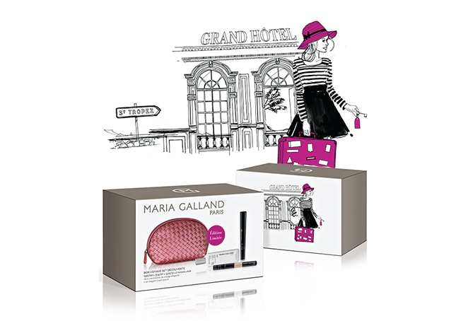 Travel Set de Maria Galland