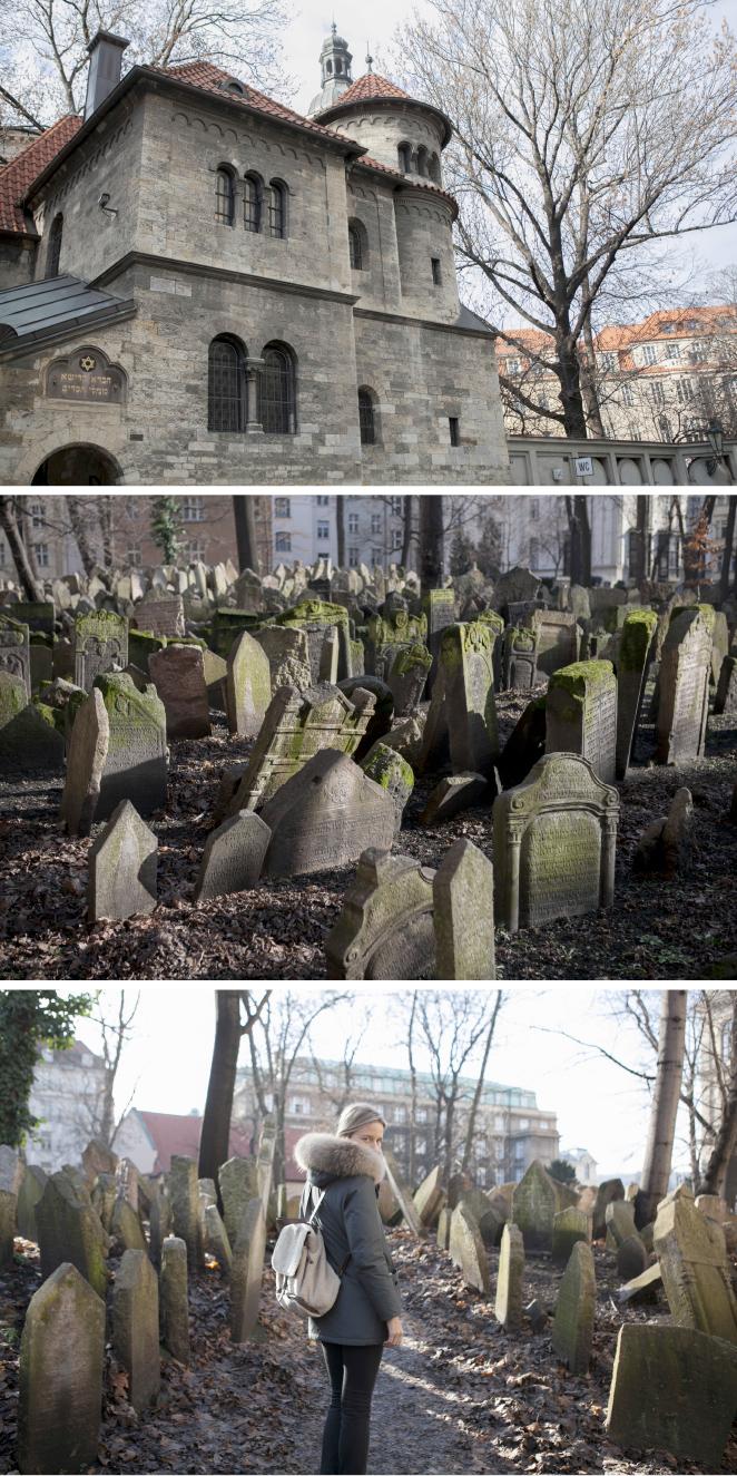 Viejo cementerio judío de Praga