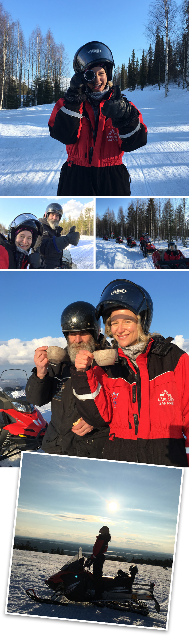 Snowmobile Safari con Lapland Safaris Luosto