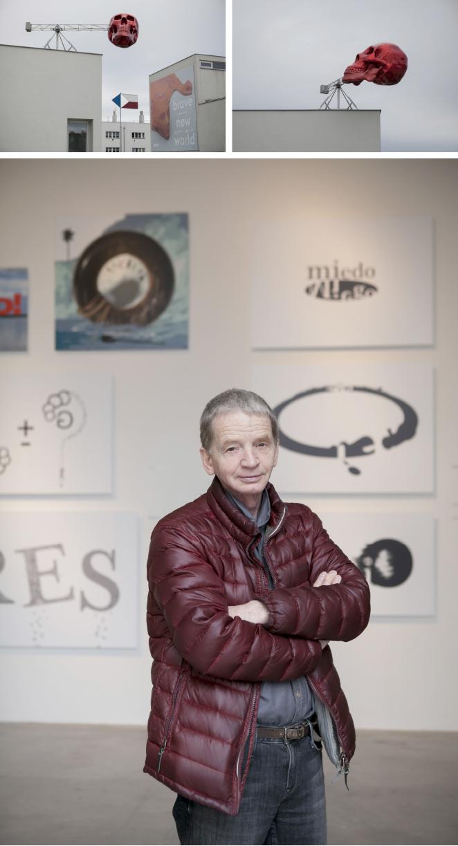 DOX, centro cultural donde hay varias muestras de arte contemporáneo que tratan muchos temas de actualidad