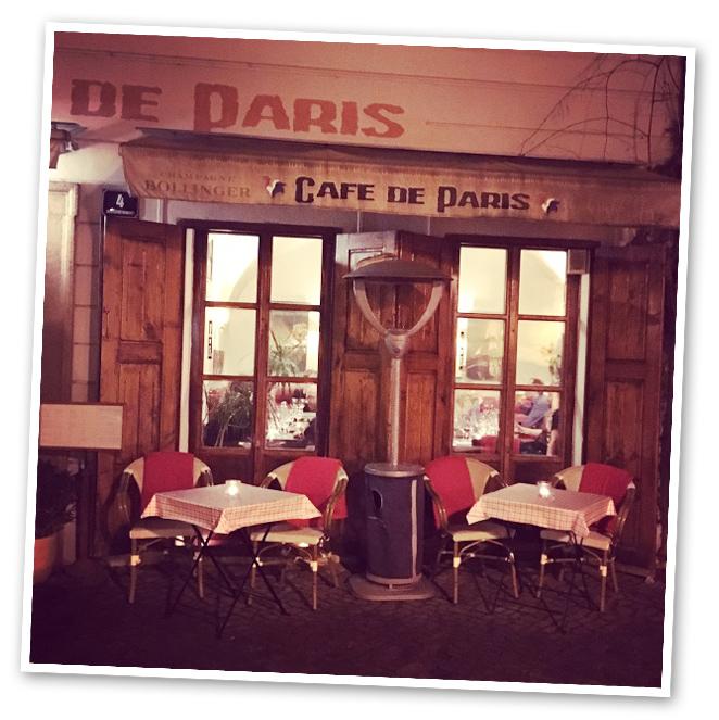 Restaurante Café de París, Praga