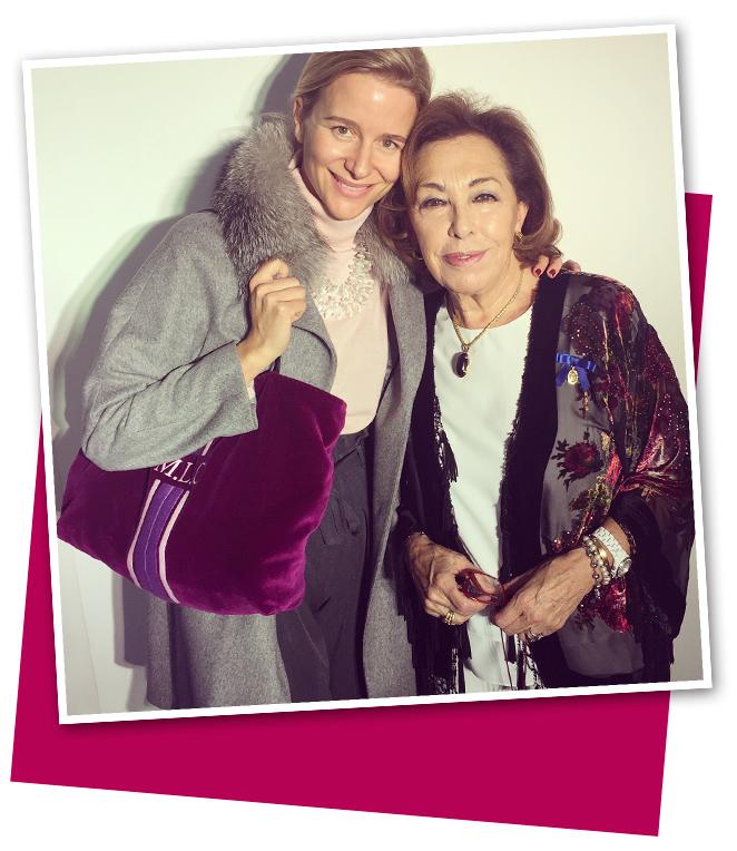 María León y Carmen Navarro