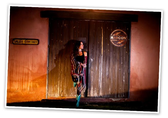 Entrando en el mundo de la cantante Rebeca Jiménez