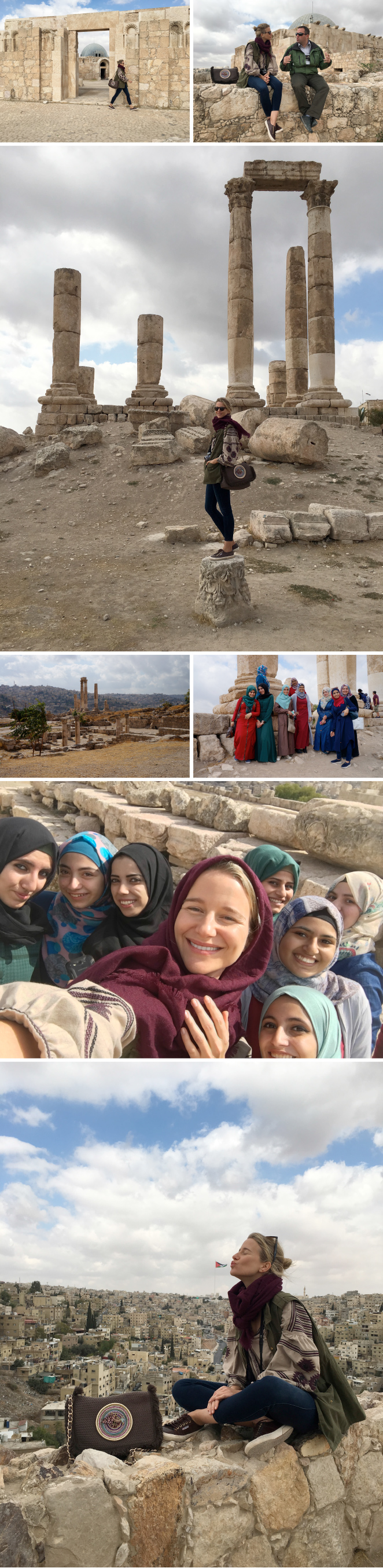 La ciudadela, Jordania