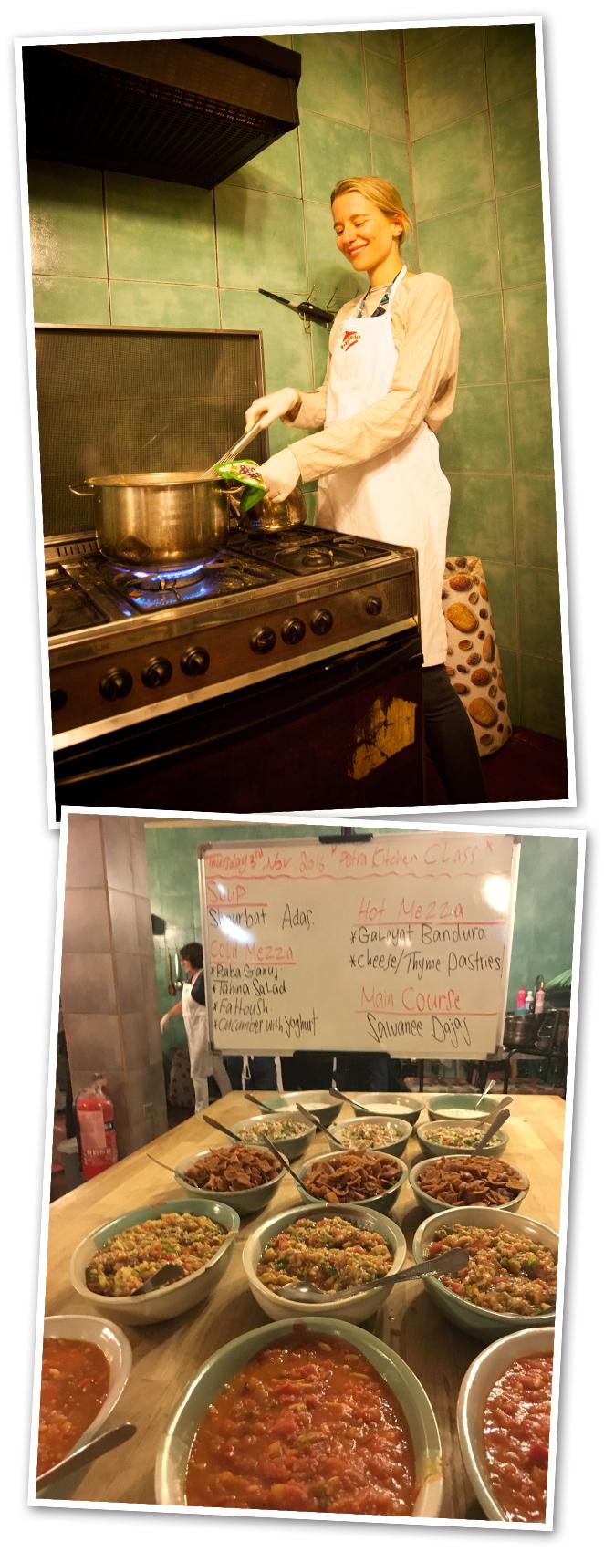 Petra Kitchen en Wadi Mousa