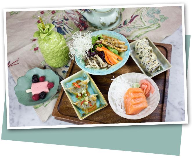 Una experiencia gastronómica saludable by Sushita