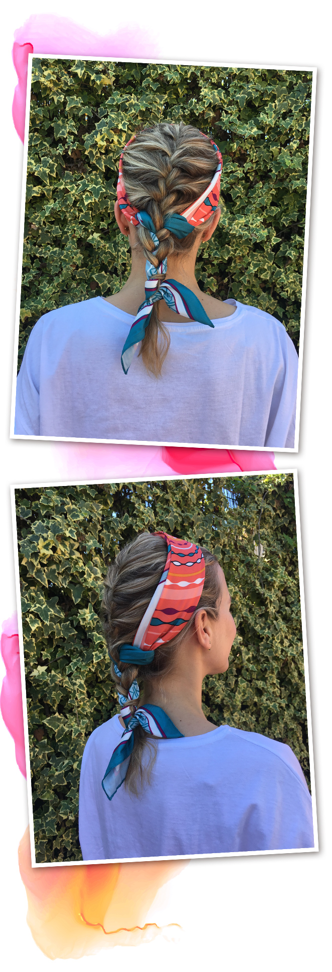 LOOK #2. La trenza tricotada