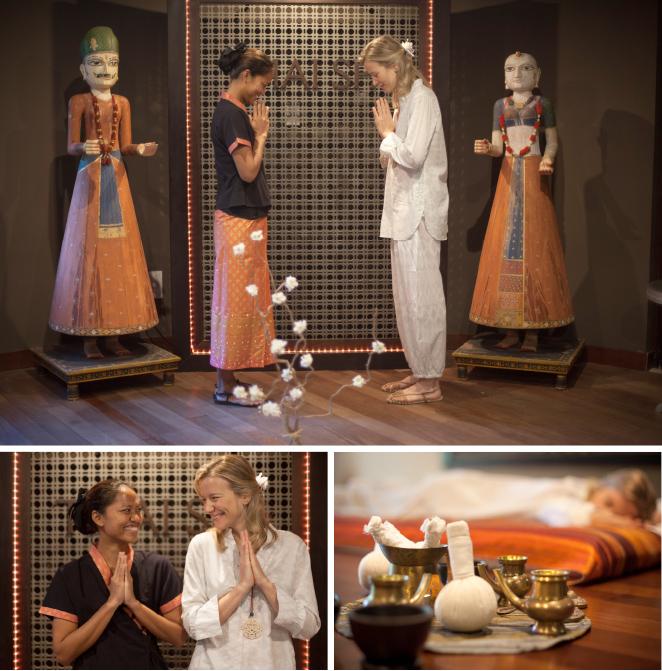 Y precisamente uno de los must en cualquier viaje asiático que se precie es el masaje tradicional tailandés, que en Asian Gardens lo practican masajistas instruidos en la escuela del What Po, cuna de esta disciplina.