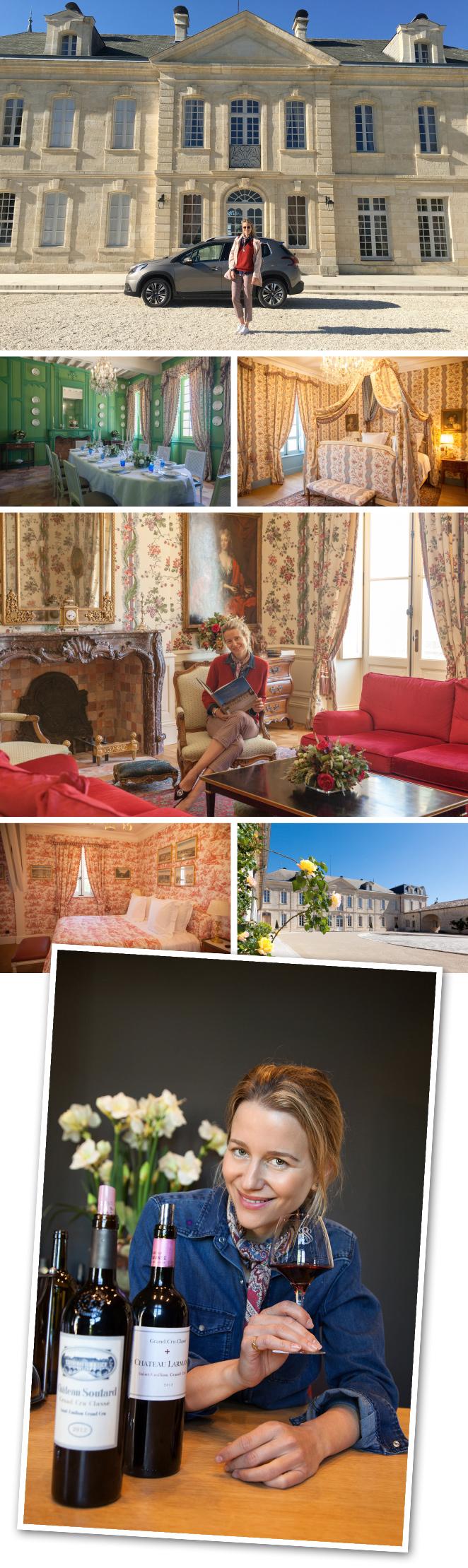 Soutard cuya casa es del siglo XVIII y cuenta con cuatro habitaciones y una bodega con añadas de 1924 a 1964).