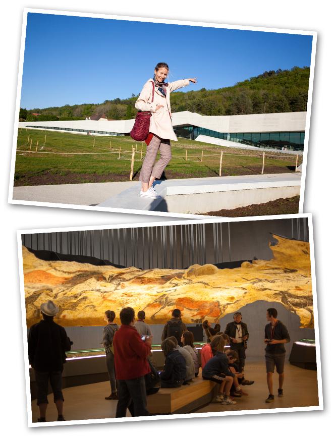 La región de Dordoña, a unas dos horas en coche de Saint.Emilion, fue nuestra siguiente parada. Nuestra primera visita fue al Centro Internacional de Arte Parietal de Lascaux, un emplazamiento único con cuatro grutas que conservan pinturas paleolíticas.