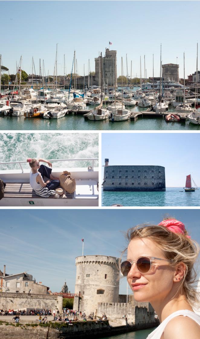 En La Rochelle, hacer un crucero fluvial hacia Fort Boyard (un enclave estratégico creado para la protección del río Charente), la isla de Aix y el arsenal de Rochefort (coloso de la piedra) es un plan para no perderse.