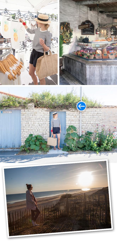 En el extremo occidental de la isla está el Faro de las Ballenas, uno de los más grandes de Francia. Subir sus 257 escalones merece la pena para disfrutar de una vista magnífica, pero también lo es pasear por la playa de la Conche, una de las más bellas. También visitamos Ars-en-Ré, conocido como uno de los pueblos más bellos de Francia y La Flotte-en-Ré que será nuestra última parada. Se trata uno de los pueblos más antiguos de la isla, con un puerto bellísimo, así como un mercado abierto diario lleno de encanto, perfecto para descubrir los placeres de los productos locales.