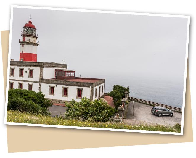 El Cabo de Silleiro y su famoso faro