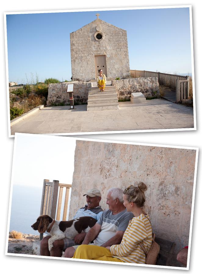 Cerca de Medina, en Dingli, se encuentra la Iglesia de Magdalena que es un precioso lugar para ver puesta de sol por sus increíbles vistas!!