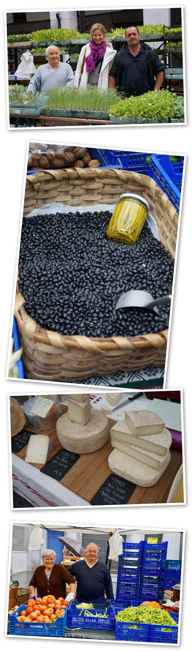 El mercado de Tolosa se celebra todos los sábados desde hace siglos y está considerado como uno de lo más típicos del País Vasco. Ocupa tres escenarios diferentes al aire libre, lo que transforma el centro de la villa en una gran feria. En el recinto del Tinglado o Zerkausia se venden los productos autóctonos más representativos de la zona, los productos de los caseríos. En la Plaza Verdura, nos encontramos con la feria de flores y plantas y en la Plaza Euskal Herria exponen a la venta productos foráneos y textiles