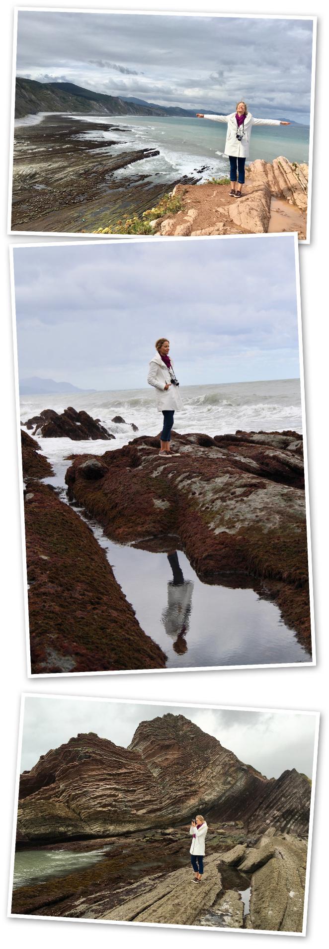 """Lo más importante para visitar en esta zona es el Geoparkea para poder admirar los espectaculares Flysh que formaciones rocosas naturales que regalan un paisaje de espectaculares acantilados que son referencia geológica internacional, ya que muestranmás de 60 millones de años de la historia de la Tierra. Este ha sido uno de los escenarios de Juego de Tronos y de la película """"8 apellidos vascos"""""""