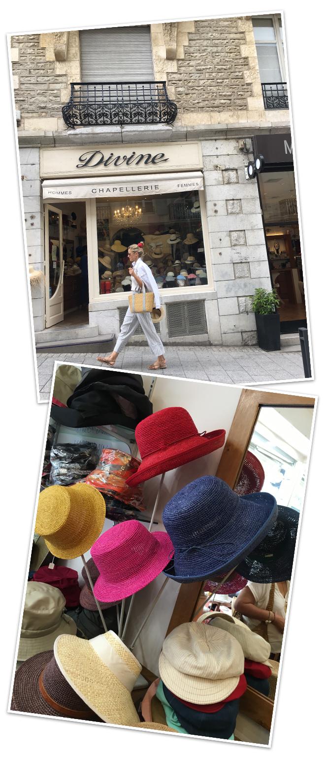 La tienda de sombreros Divine en la calle Víctor Hugo