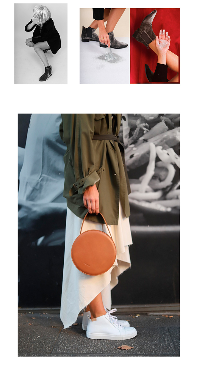 Otras de las propuestas más tradicionales que encontramos en el slow fashion nacional son las alpargatas o espardillas que tan populares han sido en los últimos años gracias a marcas como Mint & Rose, que comenzó produciendo este modelo de calzado y en la actualidad cuenta con una amplia propuesta entre las que encontramos zapatillas de deporte, botines y bolsos.